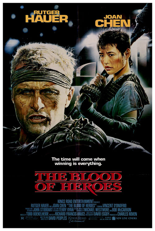 Us poster from the movie The Blood of Heroes