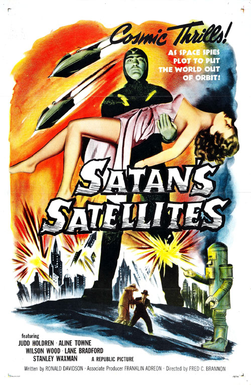 Us poster from the movie Satan's Satellites