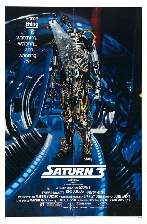 Us poster from the movie Saturn 3