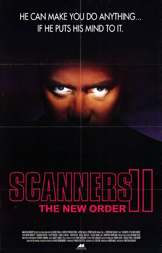 Unknown poster from the movie Scanners 2 : The New Order (Scanners II: The New Order)