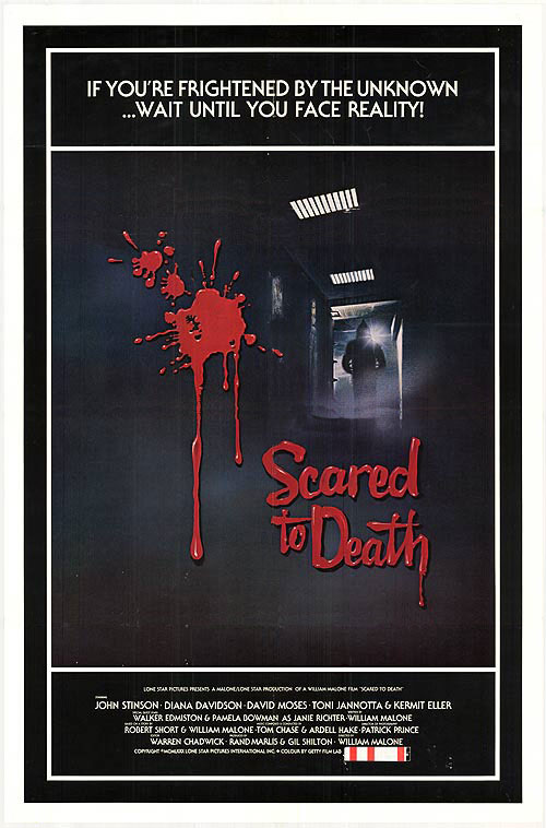 Us poster from the movie Scared to Death
