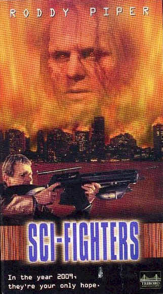 Unknown poster from the movie Sci-Fighters (Sci-fighters)