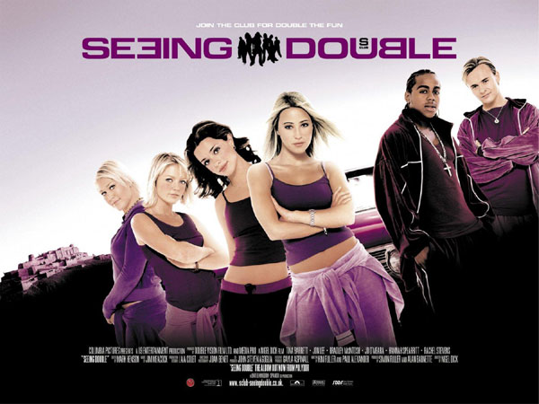 British poster from the movie S Club Seeing Double