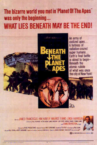 Unknown poster from the movie Beneath the Planet of the Apes