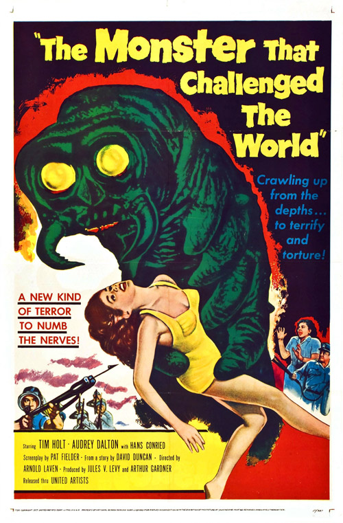 Us poster from the movie The Monster That Challenged the World