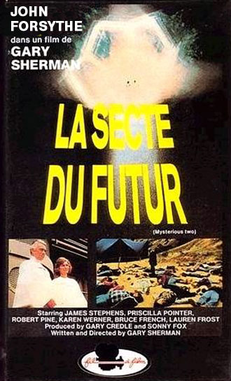 French poster from the TV movie Mysterious Two