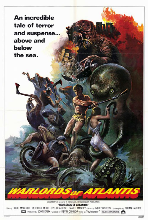 Us poster from the movie Warlords of Atlantis