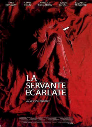 French poster from the movie The Handmaid's Tale