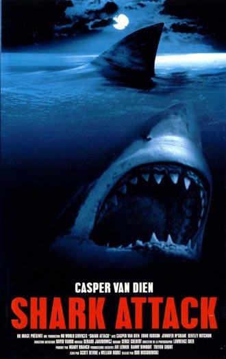 Unknown poster from the TV movie Shark Attack