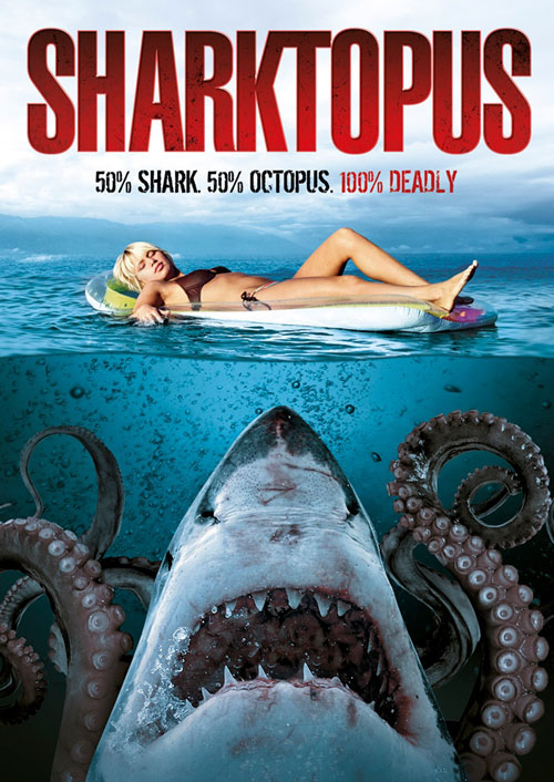 Unknown artwork from the TV movie Sharktopus