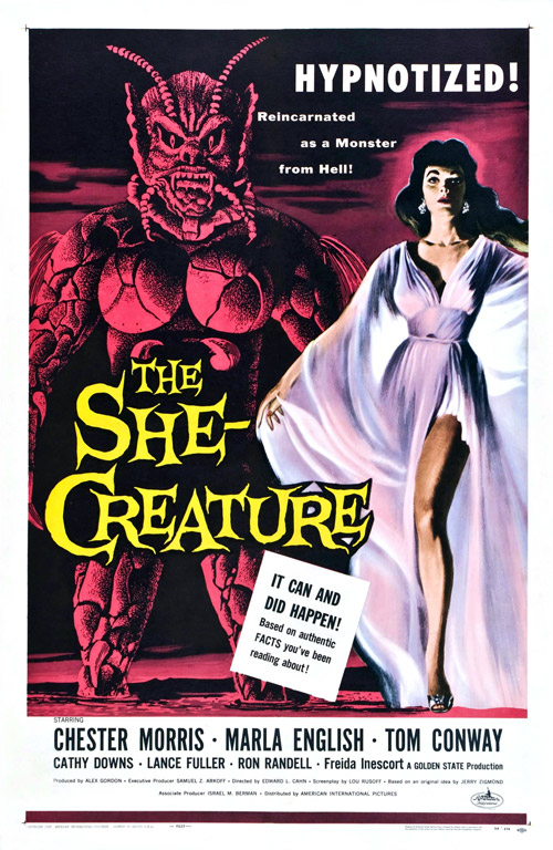 Us poster from the movie The She-Creature