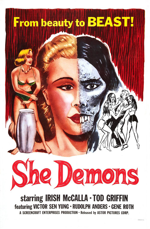 Us poster from the movie She Demons