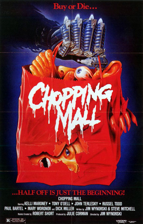 Us poster from the movie Chopping Mall