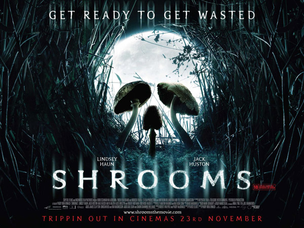 British poster from the movie Shrooms