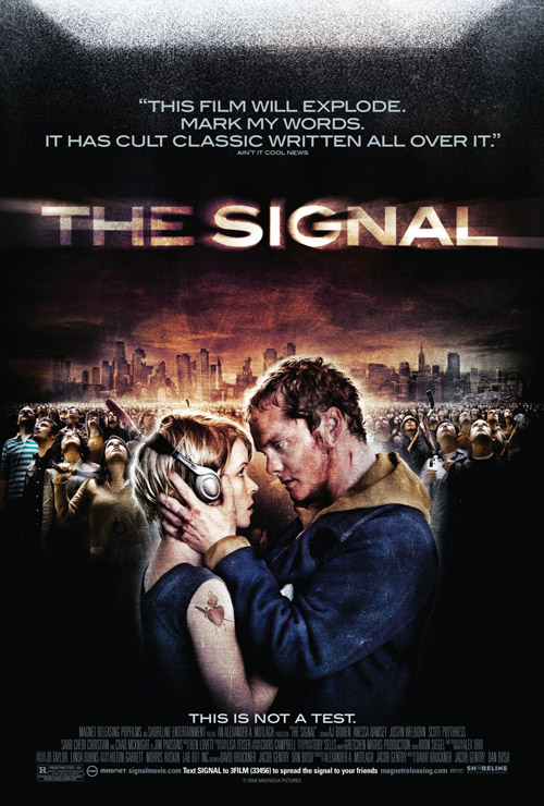 Us poster from the movie The Signal