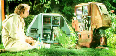 Lowell in company of Huey and Dewey - Silent Running