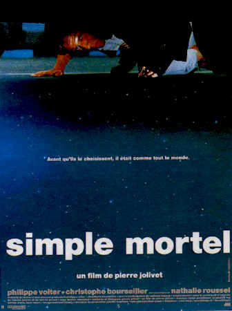 French poster from the movie Simple mortel