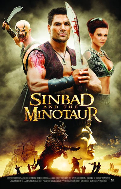 Unknown poster from the TV movie Sinbad and the Minotaur