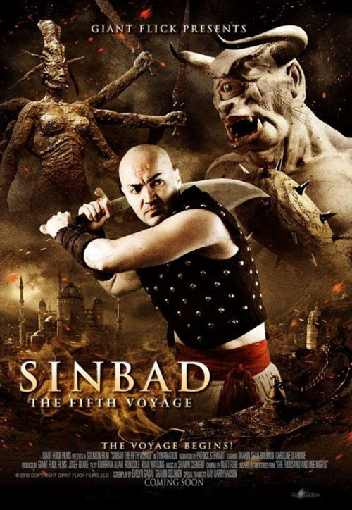 Us poster from the movie Sinbad: The Fifth Voyage