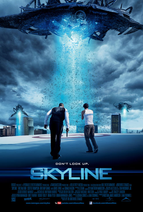 Us poster from the movie Skyline