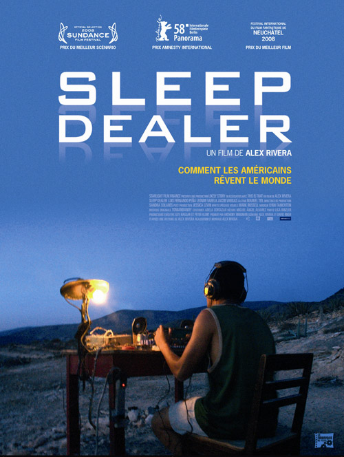 French poster from the movie Sleep Dealer