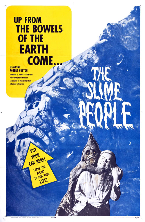 Us poster from the movie The Slime People