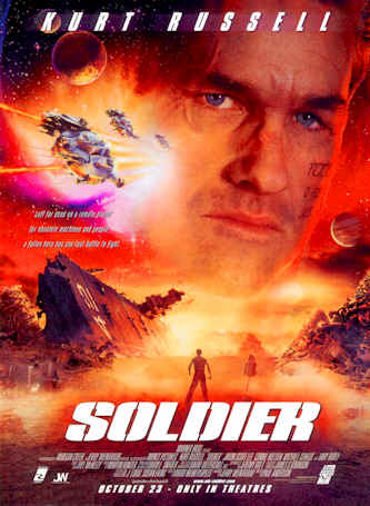 Unknown poster from the movie Soldier