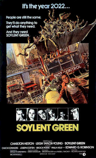 Unknown poster from the movie Soylent Green