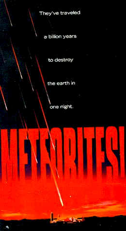 Unknown poster from the TV movie Meteorites!