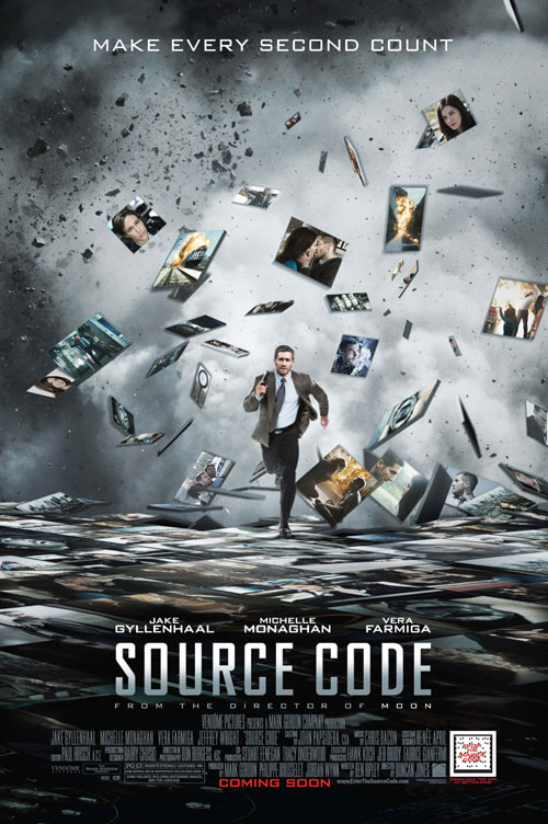 Us poster from the movie Source Code