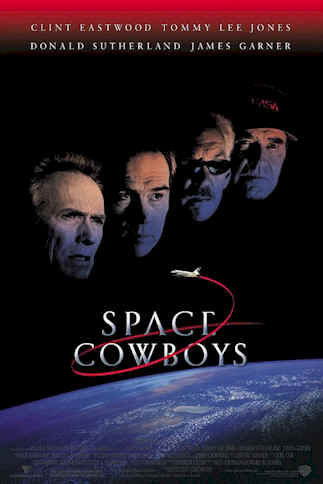 Unknown poster from the movie Space Cowboys