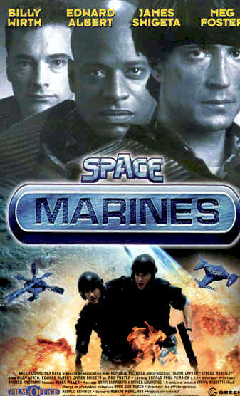 Unknown poster from the movie Space Marines
