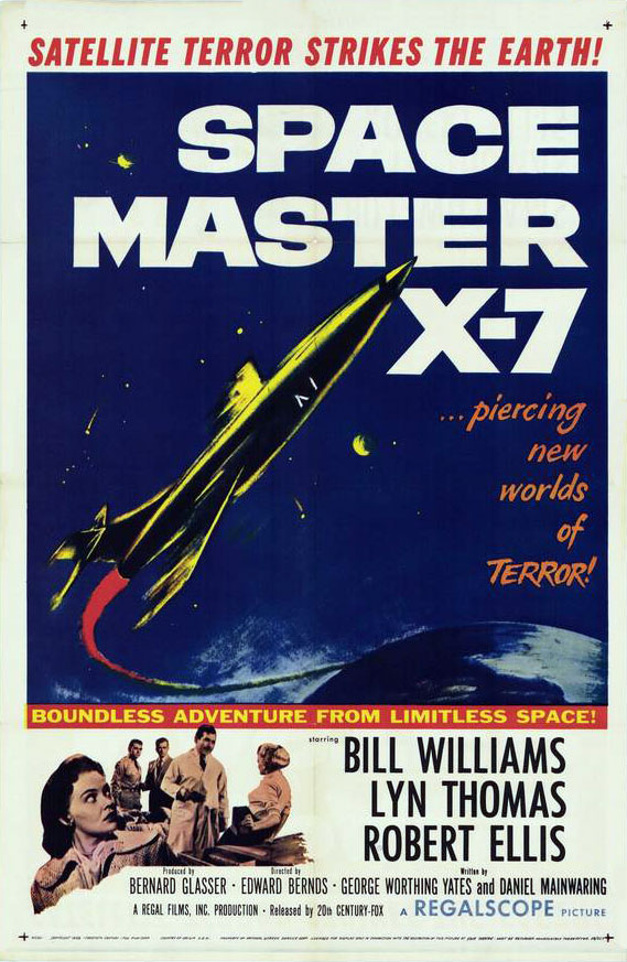 Us poster from the movie Space Master X-7