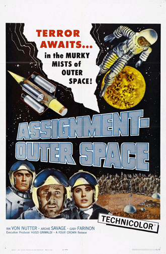 Us poster from the movie Space Men