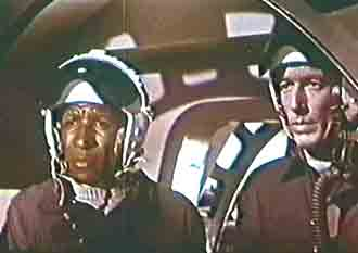 Al and Commander George onboard rocketship BZ-88 - Space Men (Space Men)