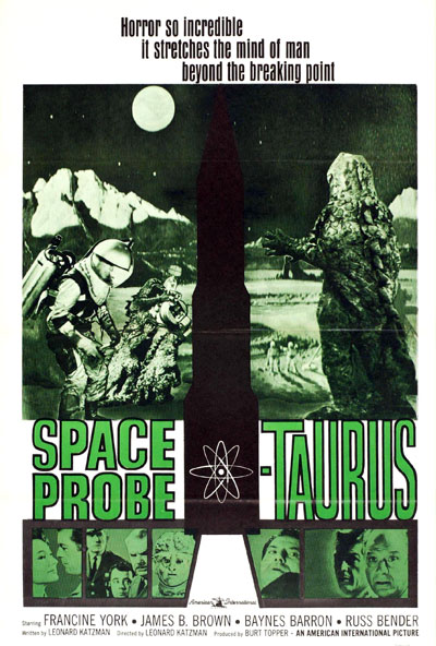 Us poster from the movie Space Probe Taurus