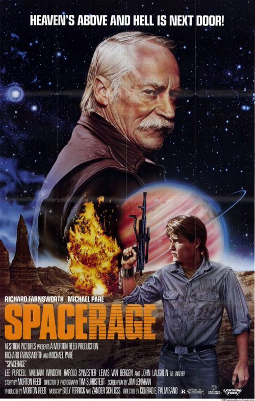 Us poster from the movie Space Rage