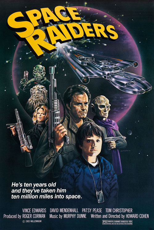 Us poster from the movie Space Raiders