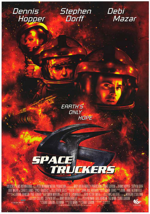 Us poster from the movie Space Truckers