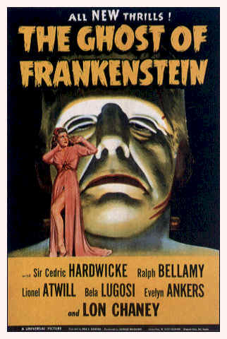 Unknown poster from the movie The Ghost of Frankenstein