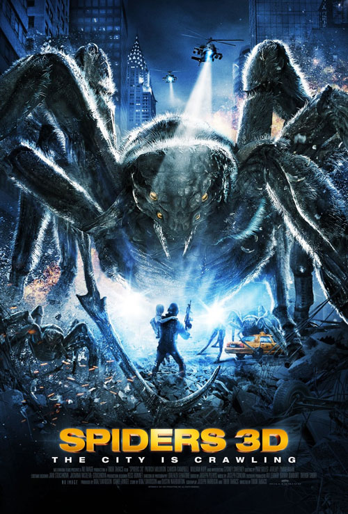Us poster from the movie Spiders