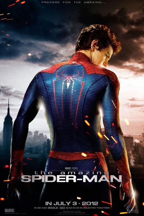 Us poster from the movie The Amazing Spider-Man