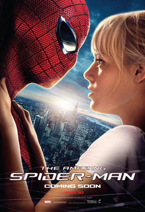 Affiche américaine de 'The Amazing Spider-Man'