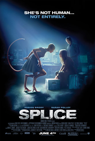 Us poster from the movie Splice