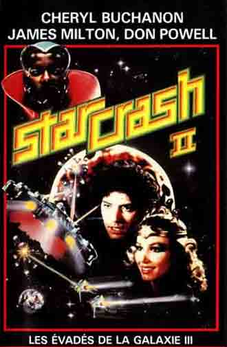 French poster from the movie StarCrash 2 (Giochi erotici nella 3a galassia)