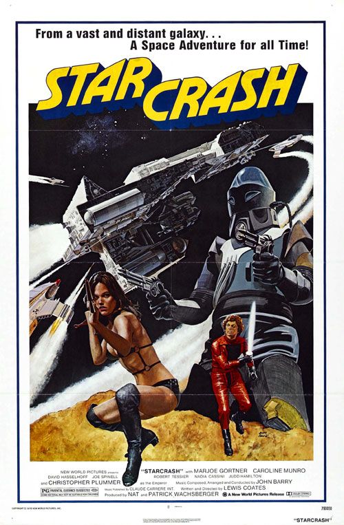 Us poster from the movie Starcrash