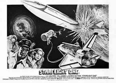 French poster from the TV movie Starflight: The Plane That Couldn't Land