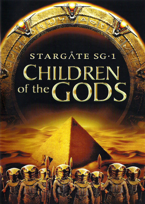 French poster from the movie Stargate SG-1: Children of the Gods