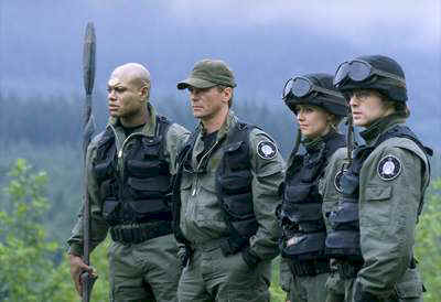 "SG-1 in episode ""The Nox"" - Stargate SG-1"