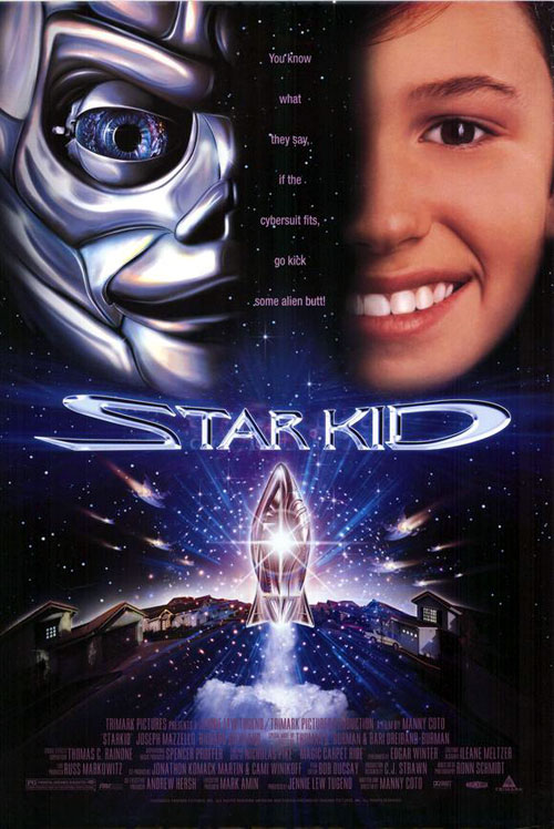 Us poster from the movie Star Kid